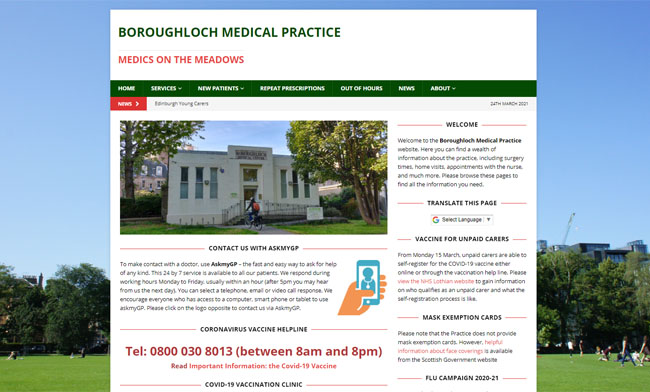 Boroughmuir Medical Practice